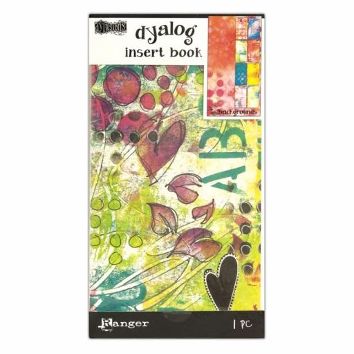 Dylusions Dyalog Backgrounds Insert book 24 pages