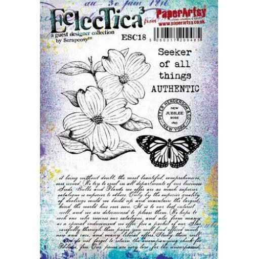PaperArtsy - E³ Scrapcosy 18 (A5 set, trimmed, on EZ)