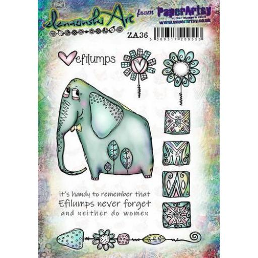 PaperArtsy - Zinski Art Set 36 (A5 set, trimmed, on EZ)