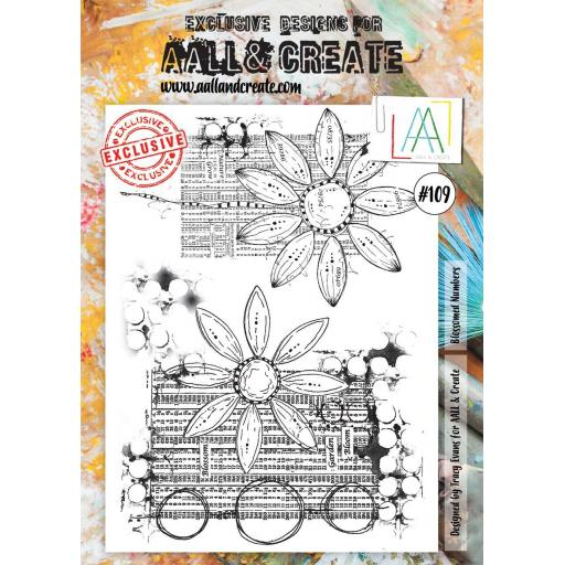 Aall & Create Clear A4 stamp #109