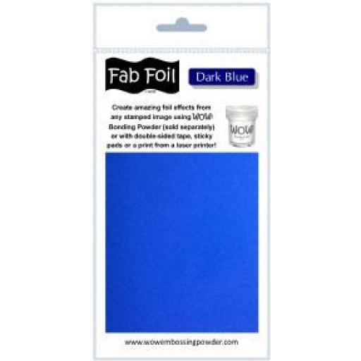 WOW! Fab Foil Dark Blue