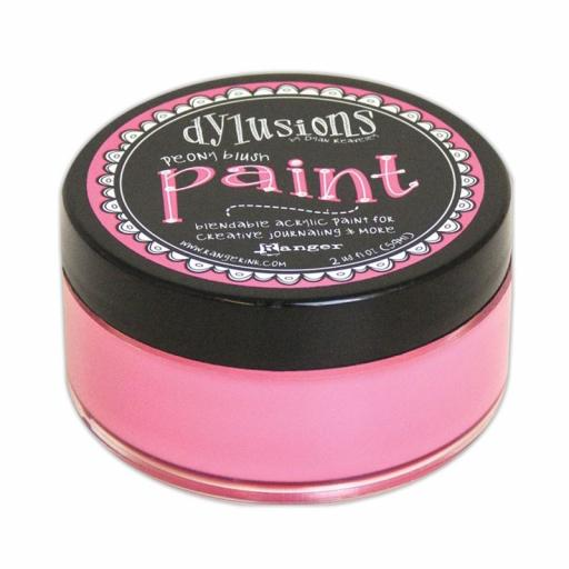 Dylusions Paint - Peony Blush