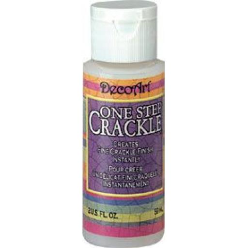 DecoArt One Step Crackle 2 fl oz
