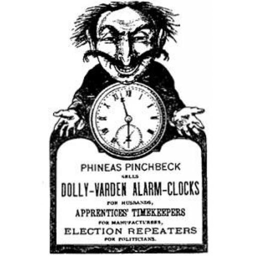Phineas Pinchbeck (cut out and mounted on cling cushioning)