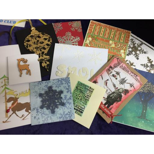 Tuesday 3rd December 7pm-9pm Christmas Card Club 12 Card Special