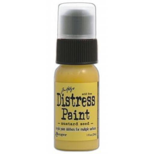 Mustard Seed Distress Paint