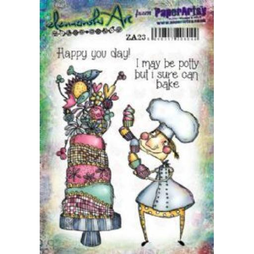 PaperArtsy - Zinski Art Set 23 (A5 set, trimmed, on EZ)