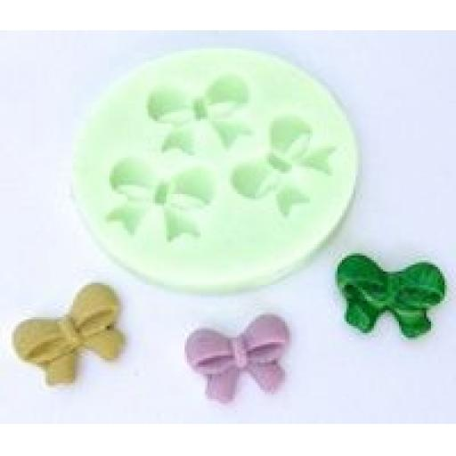 Wow Silicone Mould - 3 bows