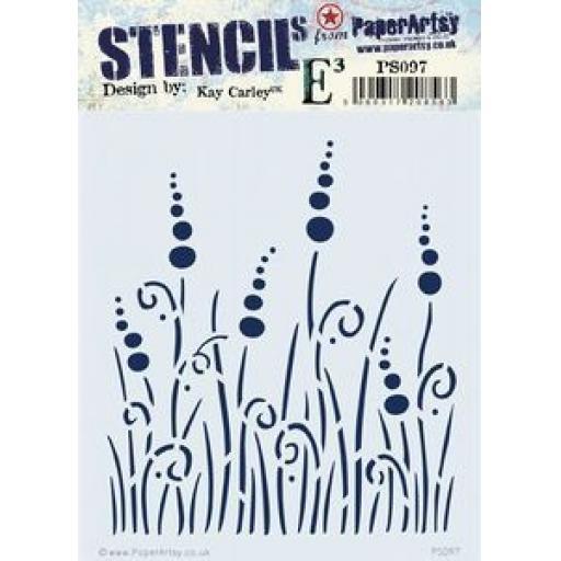 PaperArtsy - PA Stencil 097 {EKC}