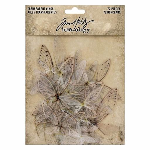 Tim Holtz Ideaology - Transparent Wings