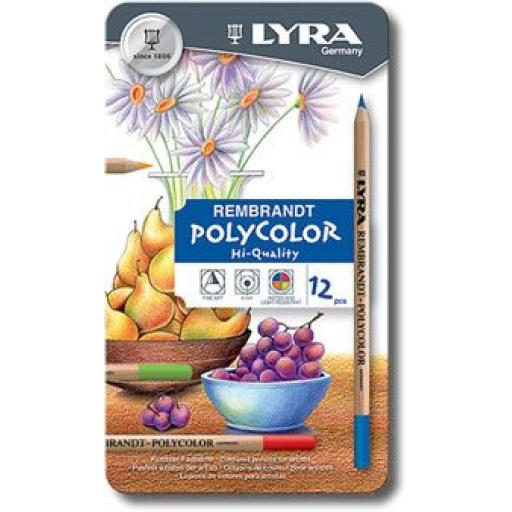 Lyra Rembrandt Polycolor x 12
