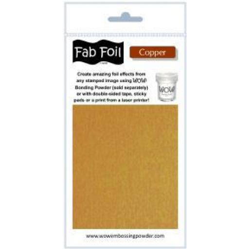 WOW! Fab Foil Copper