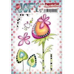 PaperArtsy -JOFY81 (A5 set, trimmed, on EZ)