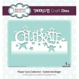 Creative Expressions -Paper Cuts Collection -Celebrate Edger