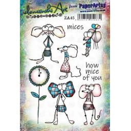 PaperArtsy - Zinski Art Set 45 (A5 set, trimmed, on EZ)