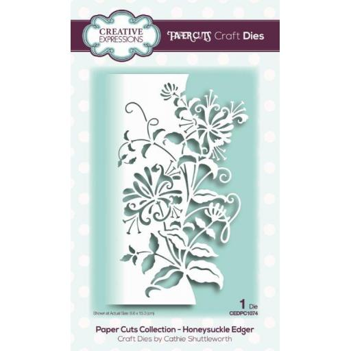 Creative Expressions -Paper Cuts Collection -Honeysuckle Edger
