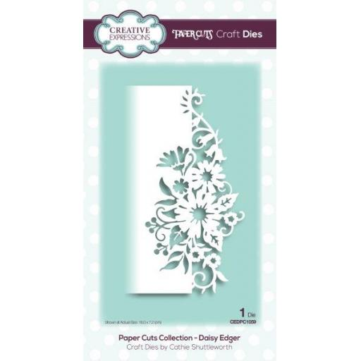 Creative Expressions -Paper Cuts Collection -Daisy Edger