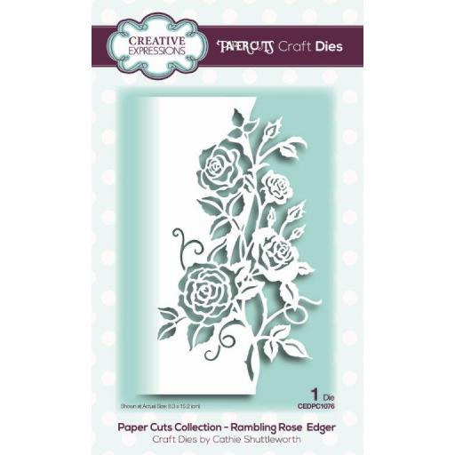 Creative Expressions -Paper Cuts Collection -Rambling Rose Edger