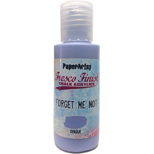 Fresco Finish Paint - Forget Me Not