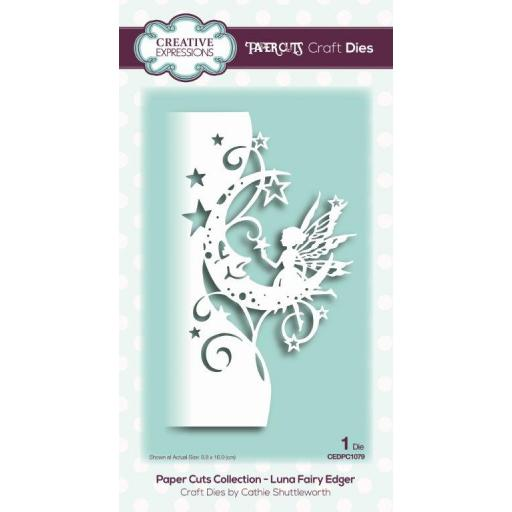 Creative Expressions -Paper Cuts Collection - Luna Fairy Edger