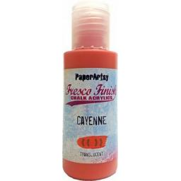 PaperArtsy- Fresco Finish - Cayenne