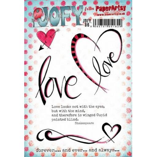PaperArtsy - JOFY86 (A5 set, trimmed, on EZ)