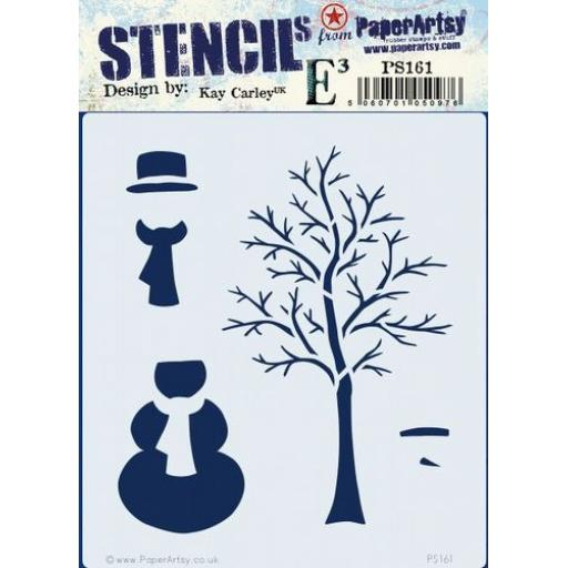 PaperArtsy - PA Stencil 161 {EKC}