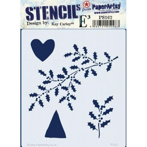 PaperArtsy - PA Stencil 162 {EKC}