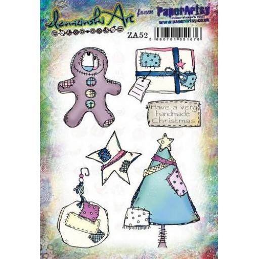 PaperArtsy- Zinski Art Set 52 (A5 set, trimmed, on EZ)