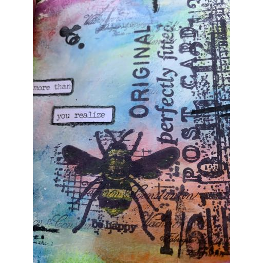 Saturday 16th November 10am- 4pm Create a Wrapped Journal using Watercolours with Debs Smith (inc. lunch)