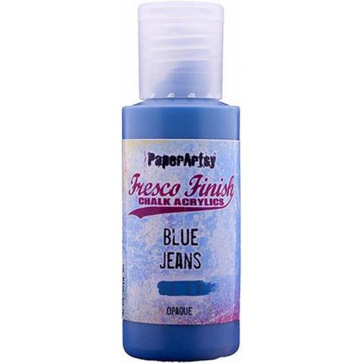 Fresco Finish Paint- Blue Jeans