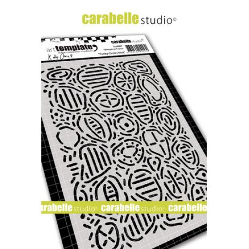 Carabelle Studio Kate Crane Stencil - Funky Circles Mini