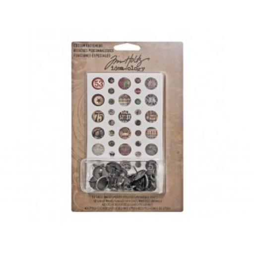 Tim Holtz Idea-ology Custom Fasteners
