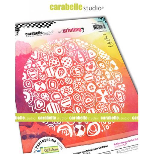 Carabelle Studio Kate Crane Texture Plate - Sweet Shop