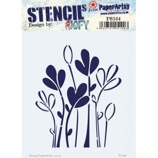 PaperArtsy -PA Stencil 164 {JOFY}