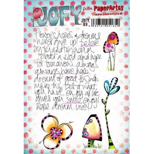 PaperArtsy -JOFY89 (A5 set, trimmed, on EZ)