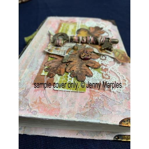 Saturday 9th May 10am-4pm Mixed Media Collage Pocket Notebook with Jenny Marples (inc. lunch)