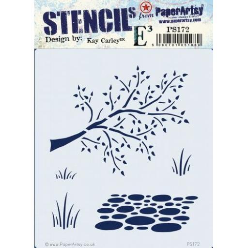 PaperArtsy - PA Stencil 172 {EKC} Pre Order
