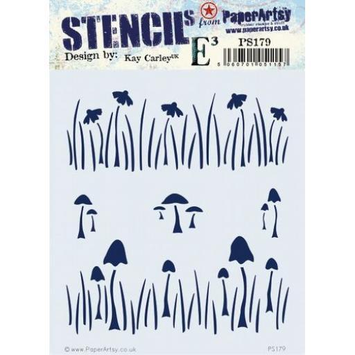 PaperArtsy - PA Stencil 179 {EKC}