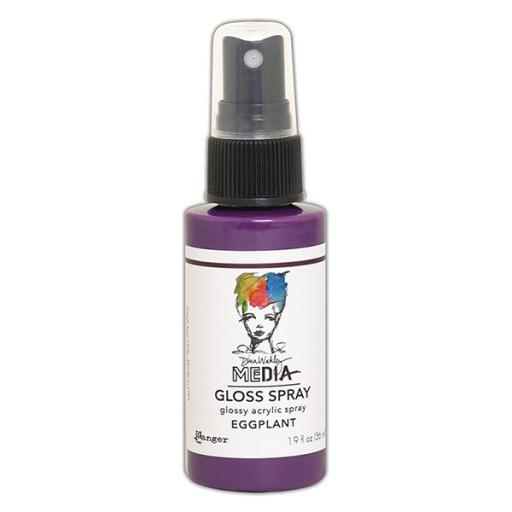 Ranger- Dina Wakley MEdia Gloss Spray - Eggplant