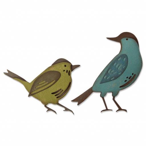 Sizzix Thinlits Die Set 6PK – Feathered Friends Item: 664433