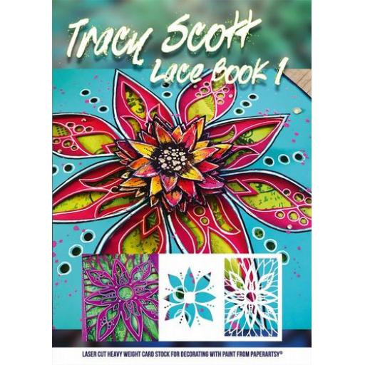 PaperArtsy - Tracy Scott Lace Booklet 1