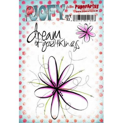 PaperArtsy - JOFY93 (A5 set, trimmed, on EZ)