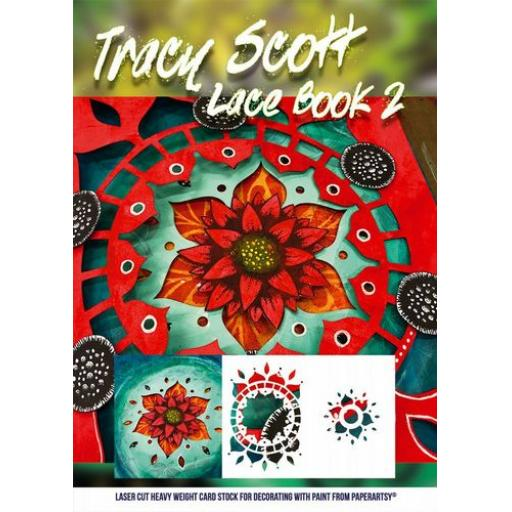 PaperArtsy - Tracy Scott Lace Booklet 2