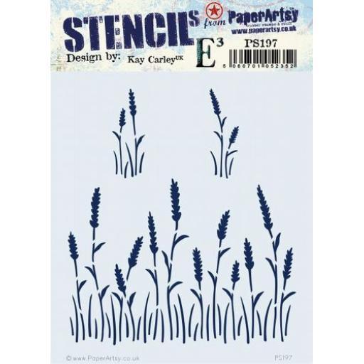 PaperArtsy - PA Stencil 197 {EKC}