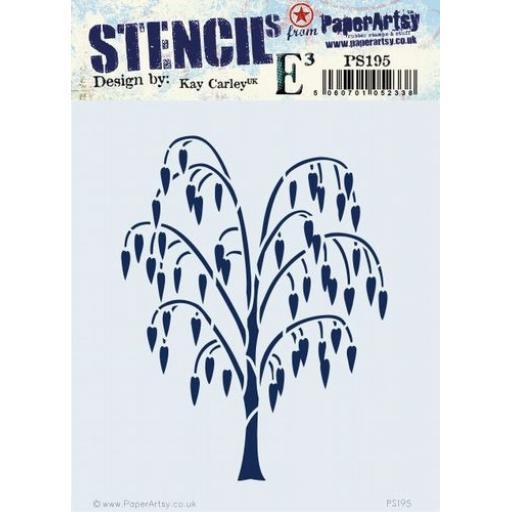 PaperArtsy - PA Stencil 195 {EKC}