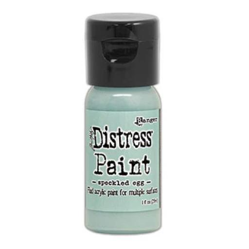 Tim Holtz Distress® Flip Top Paint 1oz- Speckled Egg