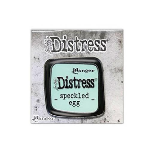 Tim Holtz Distress® Enamel Pin - Speckled Egg