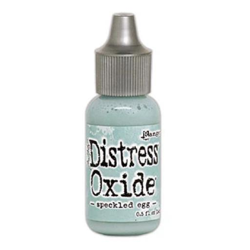 Tim Holtz Distress® Oxide® Ink Pad Re-Inker- Pre Order -Speckled Egg (delivery July)