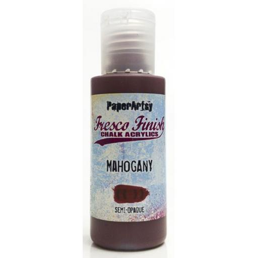 Fresco Finish Paint - Mahogany